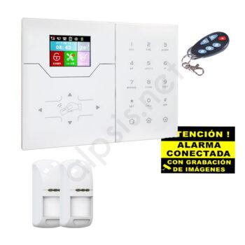 Kit alarma dos detectors de presencia